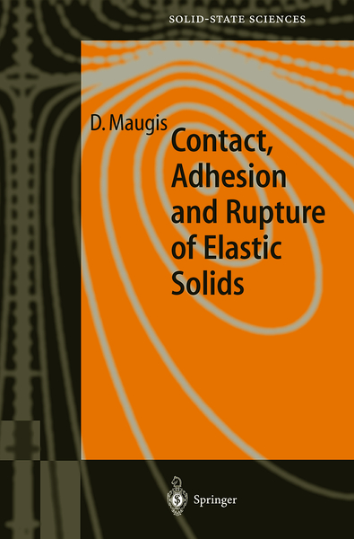 Contact, Adhesion and Rupture of Elastic Solids | Dodax.ch
