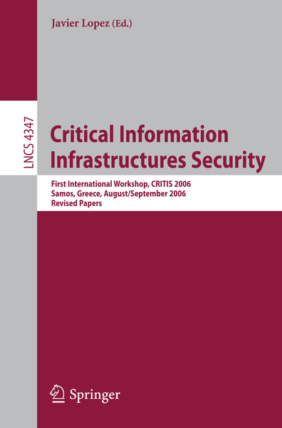 Critical Information Infrastructures Security | Dodax.pl