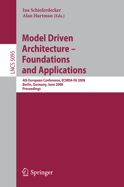 Model Driven Architecture - Foundations and Applications | Dodax.pl