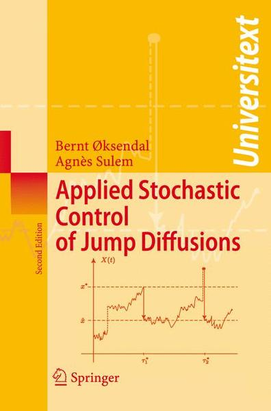 Applied Stochastic Control of Jump Diffusions | Dodax.pl