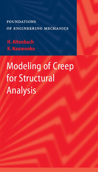 Modeling of Creep for Structural Analysis   Dodax.nl