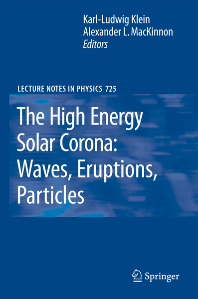 The High Energy Solar Corona: Waves, Eruptions, Particles | Dodax.ch
