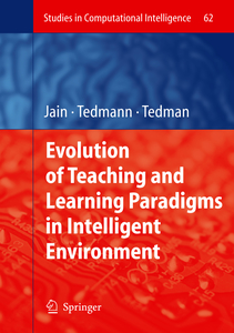 Evolution of Teaching and Learning Paradigms in Intelligent Environment | Dodax.nl