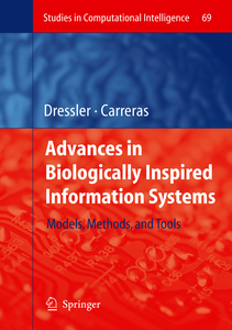 Advances in Biologically Inspired Information Systems | Dodax.nl