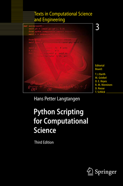 Python Scripting for Computational Science | Dodax.at