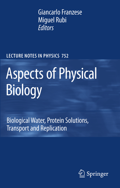 Aspects of Physical Biology | Dodax.nl