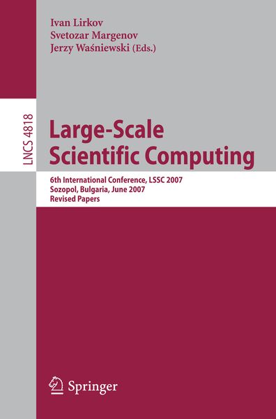 Large-Scale Scientific Computing | Dodax.ch