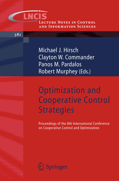 Optimization and Cooperative Control Strategies   Dodax.ch