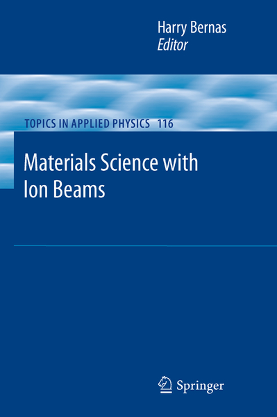 Materials Science with Ion Beams | Dodax.ch