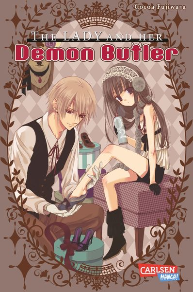 The Lady and her Demon Butler | Dodax.ch