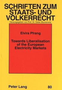 Towards Liberalisation of the European Electricity Markets | Dodax.ch