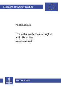 Existential sentences in English and Lithuanian | Dodax.at