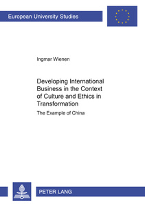 Developing International Business in the Context of Culture and Ethics in Transformation | Dodax.at