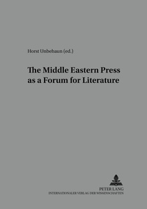 The Middle Eastern Press as a Forum for Literature | Dodax.at