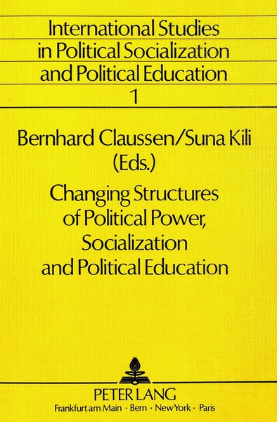 Changing Structures of Political Power, Socialization and Political Education | Dodax.at
