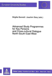 Advanced Study Programmes for Key Persons and Cross-cultural Dialogue North-South-East-West   Dodax.nl