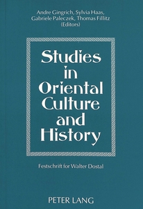 Studies in Oriental Culture and History | Dodax.nl