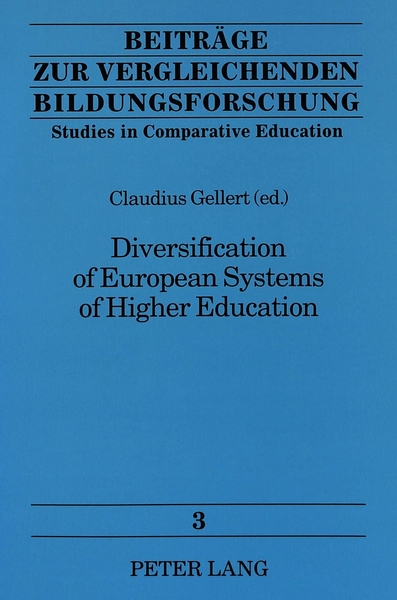 Diversification of European Systems of Higher Education | Dodax.at