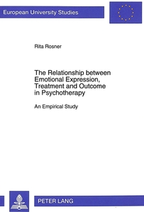 The Relationship between Emotional Expression, Treatment and Outcome in Psychotherapy | Dodax.de