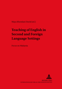 Teaching of English in Second and Foreign Language Settings   Dodax.nl