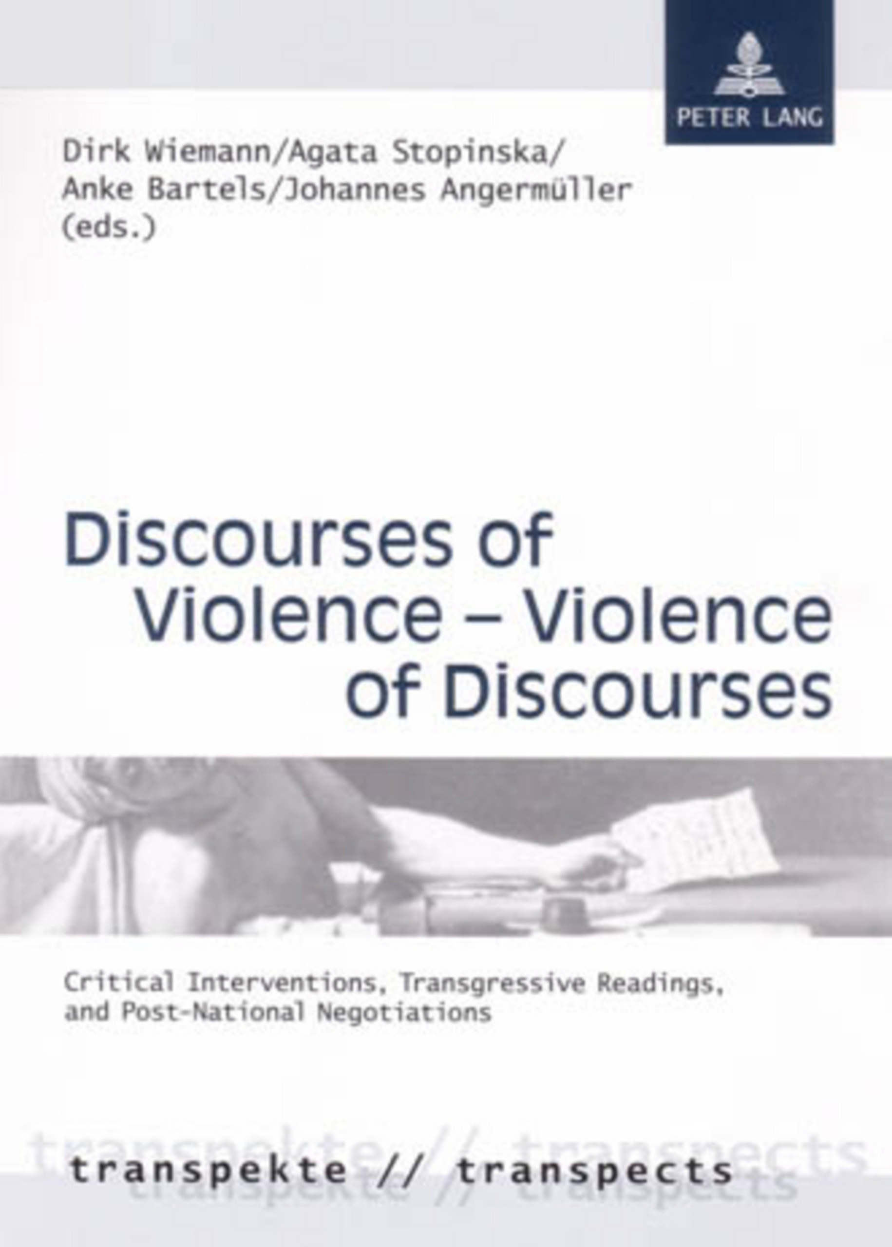 Discourses of Violence – Violence of Discourses | Dodax.at