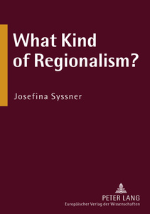 What Kind of Regionalism? | Dodax.de