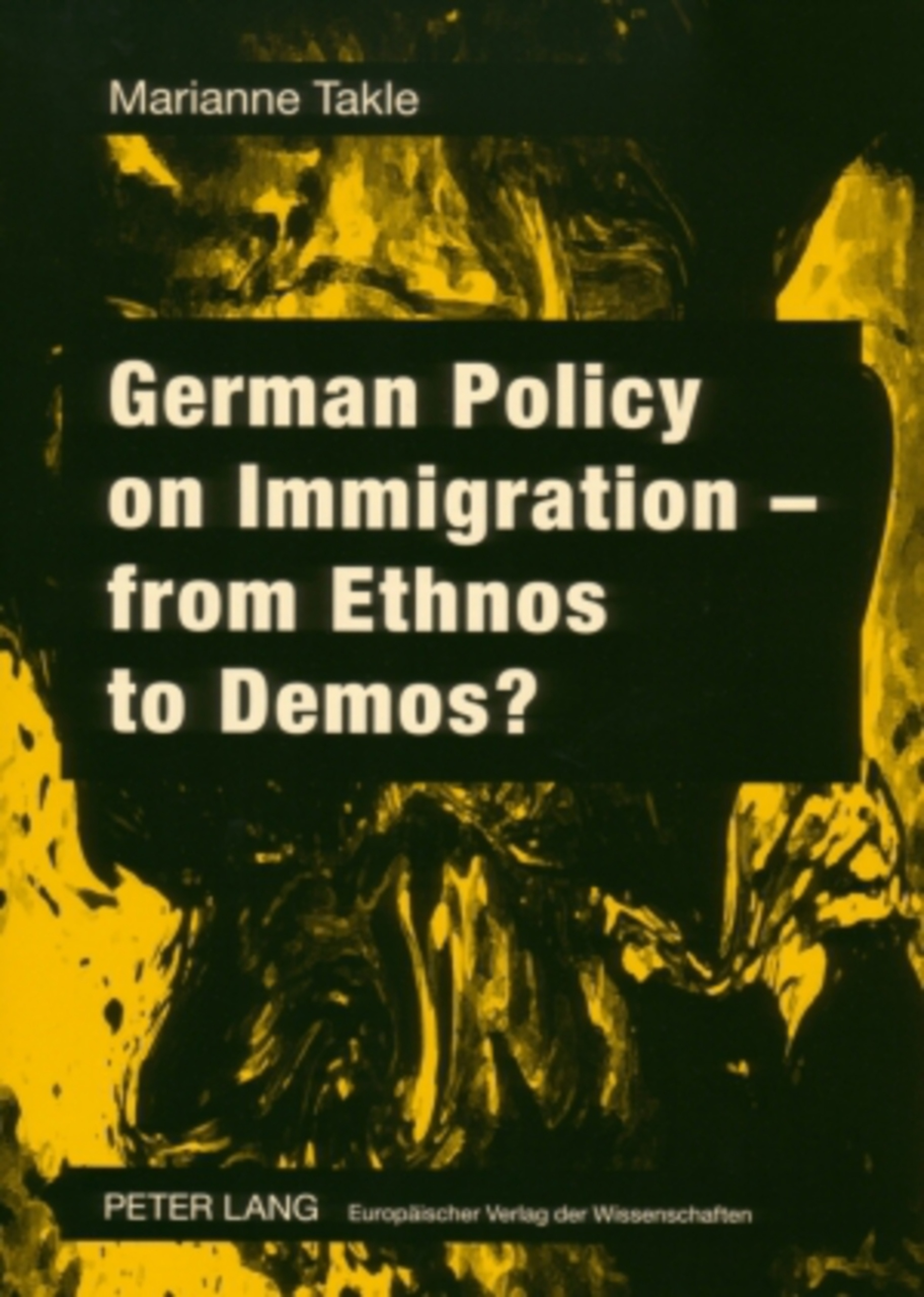 German Policy on Immigration – from Ethnos to Demos?   Dodax.ch