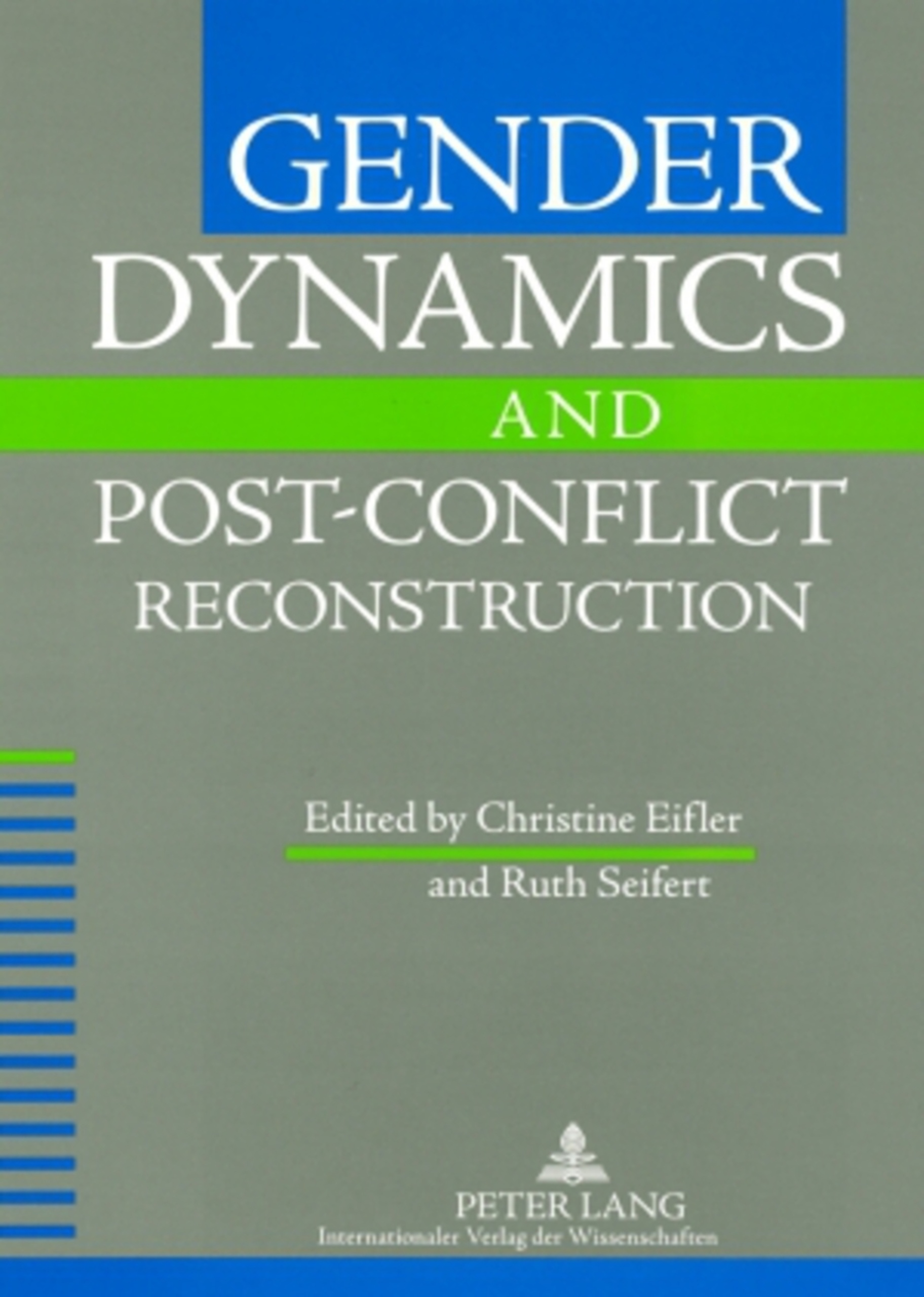 Gender Dynamics and Post-Conflict Reconstruction | Dodax.ch
