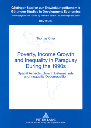 Poverty, Income Growth and Inequality in Paraguay During the 1990s | Dodax.at