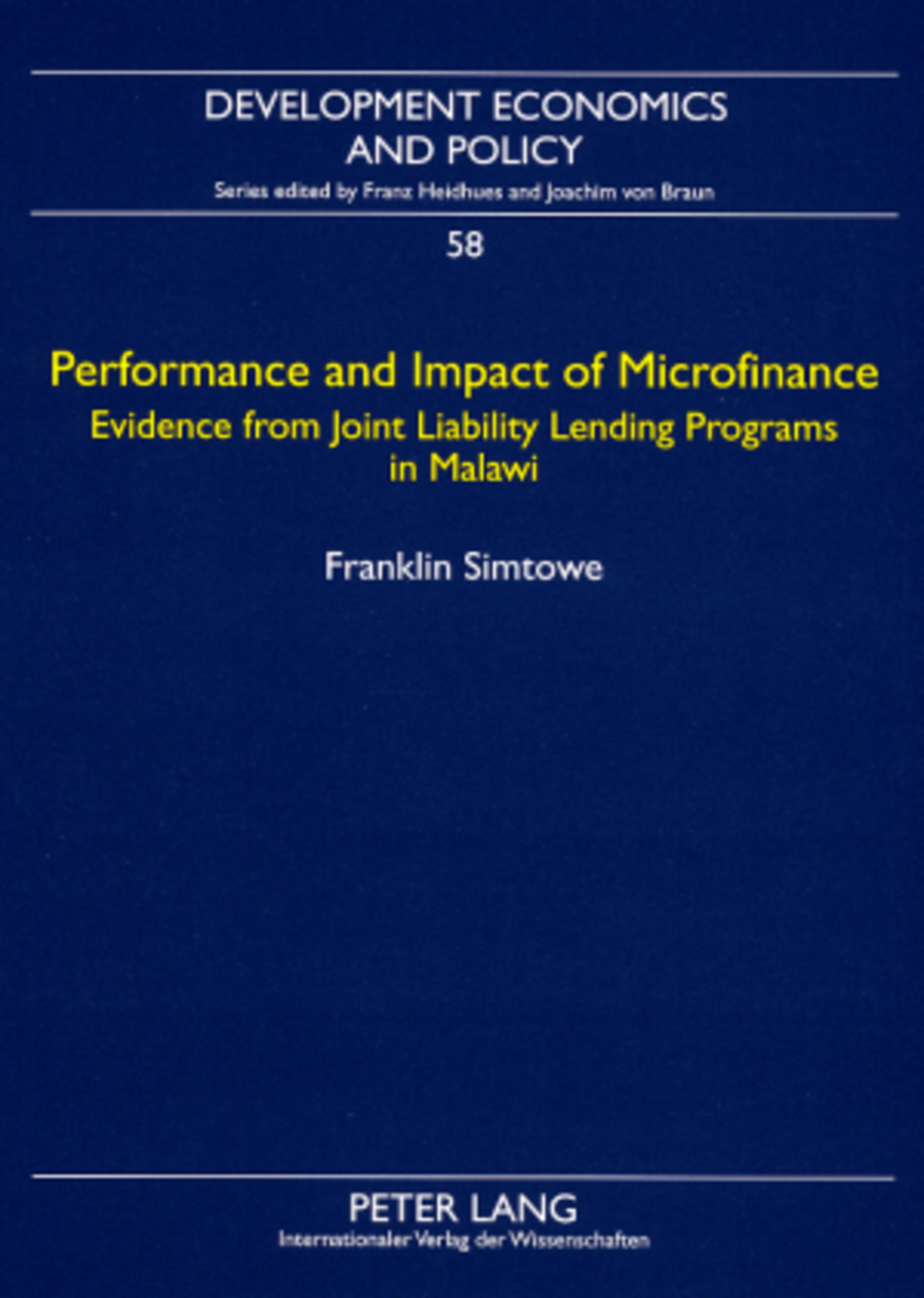 Performance and Impact of Microfinance | Dodax.at