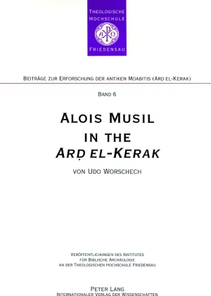 Alois Musil in the «Ard el-Kerak» | Dodax.at