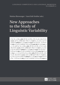 New Approaches to the Study of Linguistic Variability | Dodax.co.uk