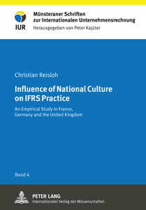 Influence of National Culture on IFRS Practice | Dodax.at