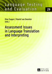 Assessment Issues in Language Translation and Interpreting | Dodax.de