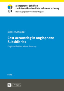 Cost Accounting in Anglophone Subsidiaries | Dodax.ch