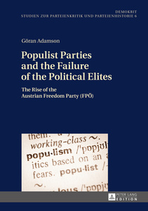 Populist Parties and the Failure of the Political Elites | Dodax.ch