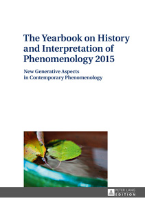 The Yearbook on History and Interpretation of Phenomenology 2015 | Dodax.at