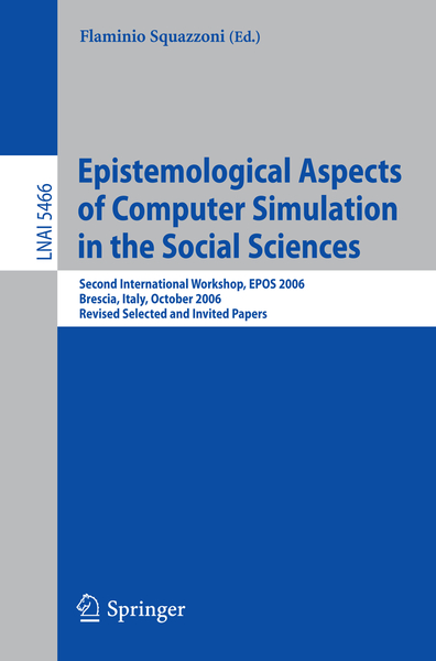 Epistemological Aspects of Computer Simulation in the Social Sciences | Dodax.ch