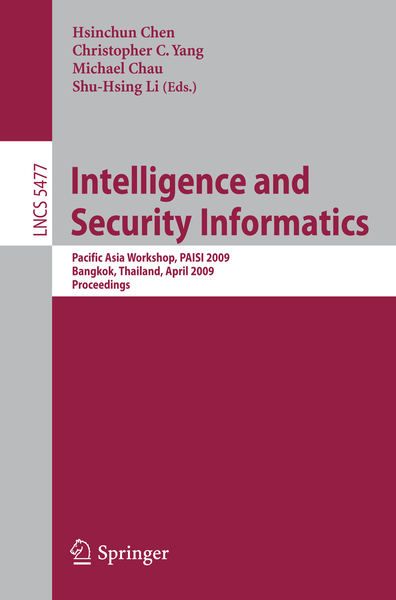 Intelligence and Security Informatics | Dodax.ch