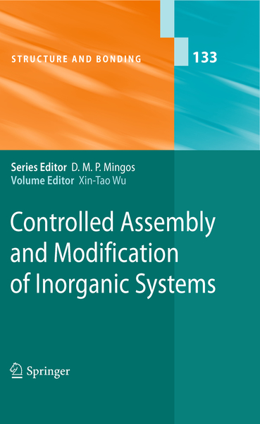 Controlled Assembly and Modification of Inorganic Systems | Dodax.ch