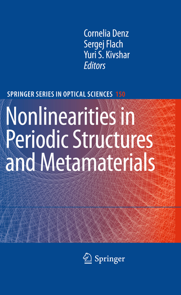Nonlinearities in Periodic Structures and Metamaterials | Dodax.ch