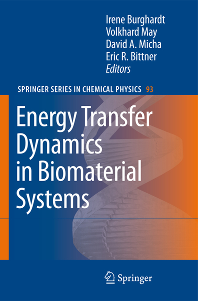 Energy Transfer Dynamics in Biomaterial Systems | Dodax.de