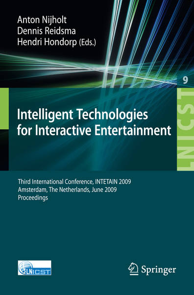 Intelligent Technologies for Interactive Entertainment | Dodax.nl