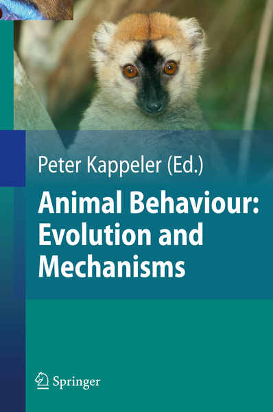 Animal Behaviour: Evolution and Mechanisms | Dodax.nl