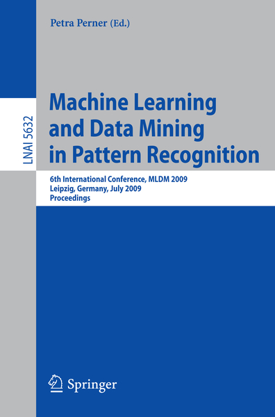Machine Learning and Data Mining in Pattern Recognition | Dodax.nl