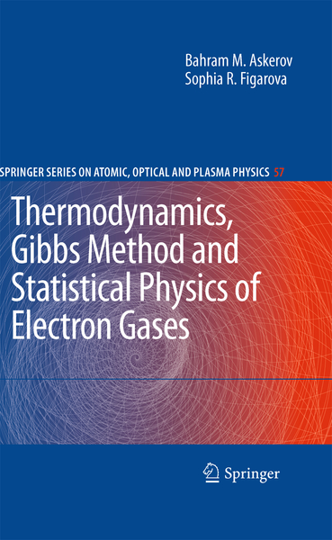 Thermodynamics, Gibbs Method and Statistical Physics of Electron Gases | Dodax.nl