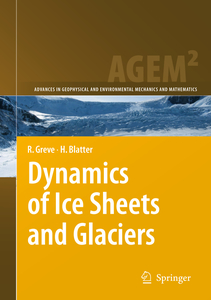 Dynamics of Ice Sheets and Glaciers | Dodax.ch