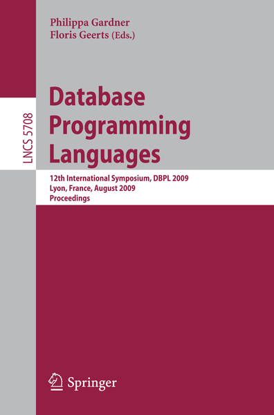 Database Programming Languages | Dodax.nl