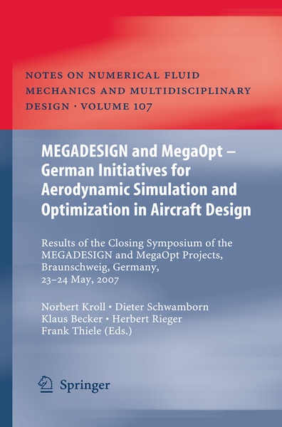MEGADESIGN and MegaOpt - German Initiatives for Aerodynamic Simulation and Optimization in Aircraft Design | Dodax.co.uk