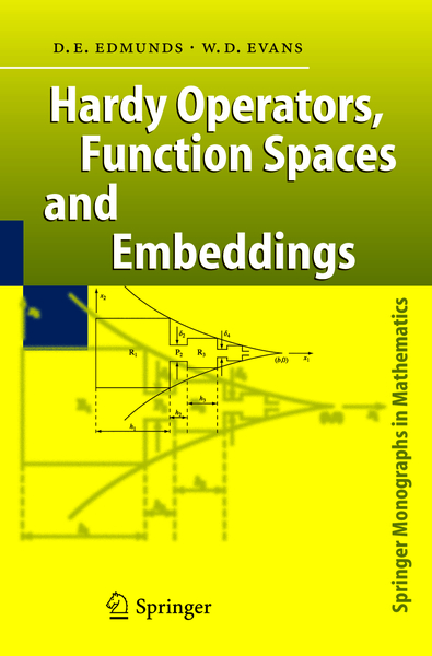 Hardy Operators, Function Spaces and Embeddings | Dodax.ch